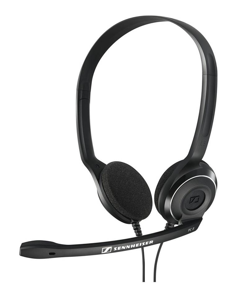 Sennheiser PC 8 Over-Ear USB VOIP Headphone with Mic zoom image
