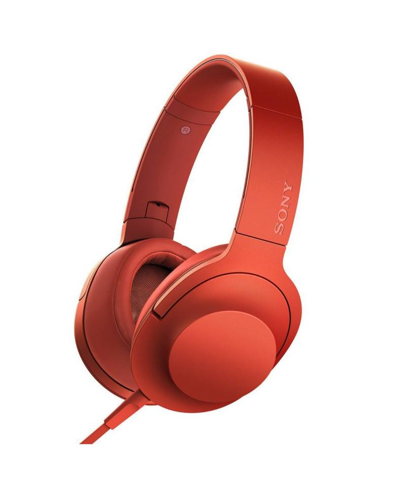 Sony MDR-100AAP On-Ear Hi-Res Audio Headphones with Microphone zoom image