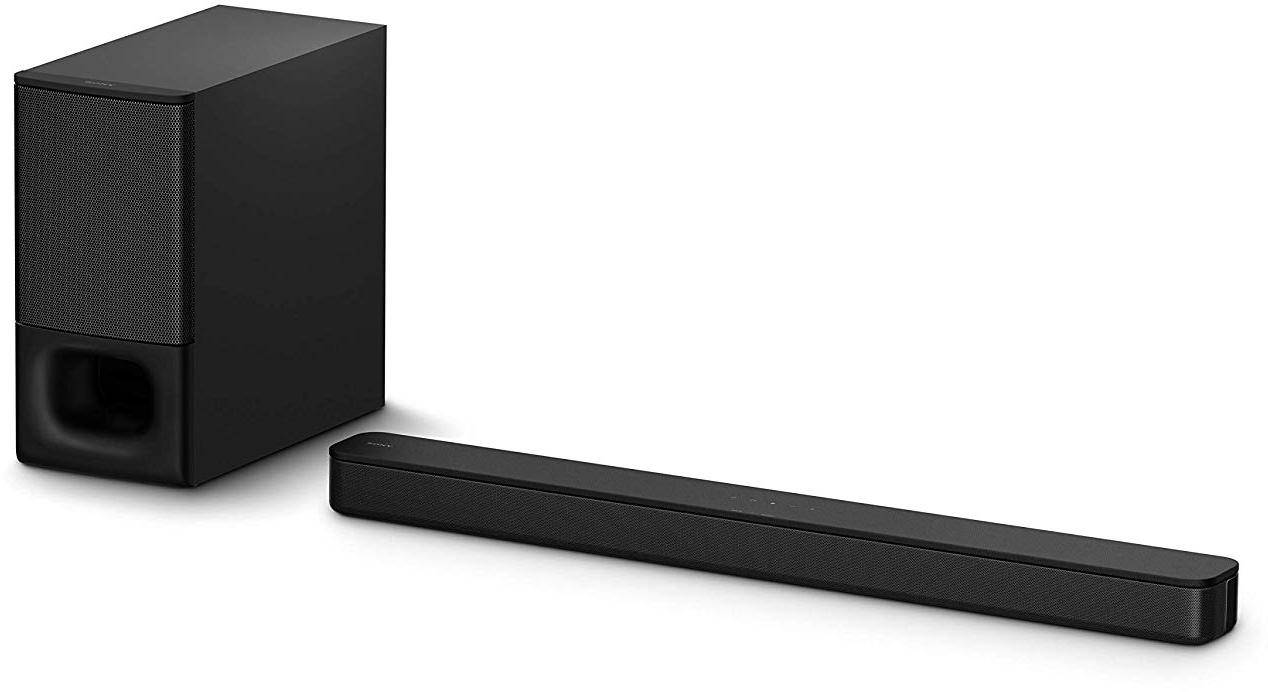 Sony HT-S350 2.1 Channel Soundbar with Wireless Subwoofer (Dolby Audio,Bluetooth Connectivity, Wireless Connectivity with TV) zoom image
