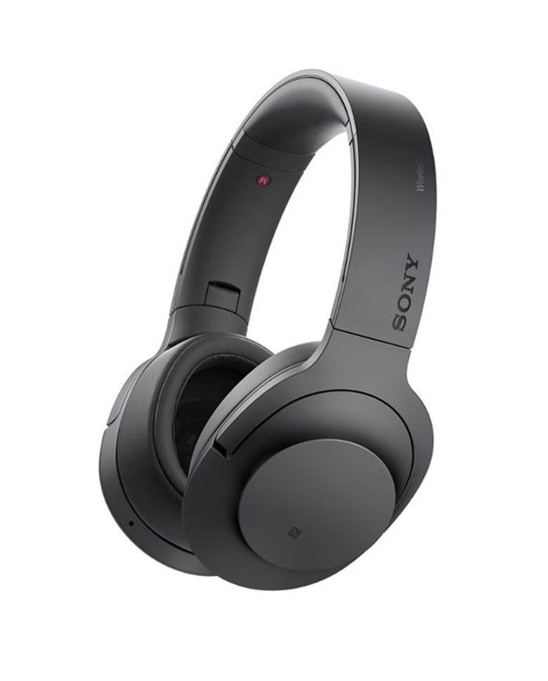 Sony MDR100ABN Bluetooth Wireless Noise Cancelling Headphone zoom image