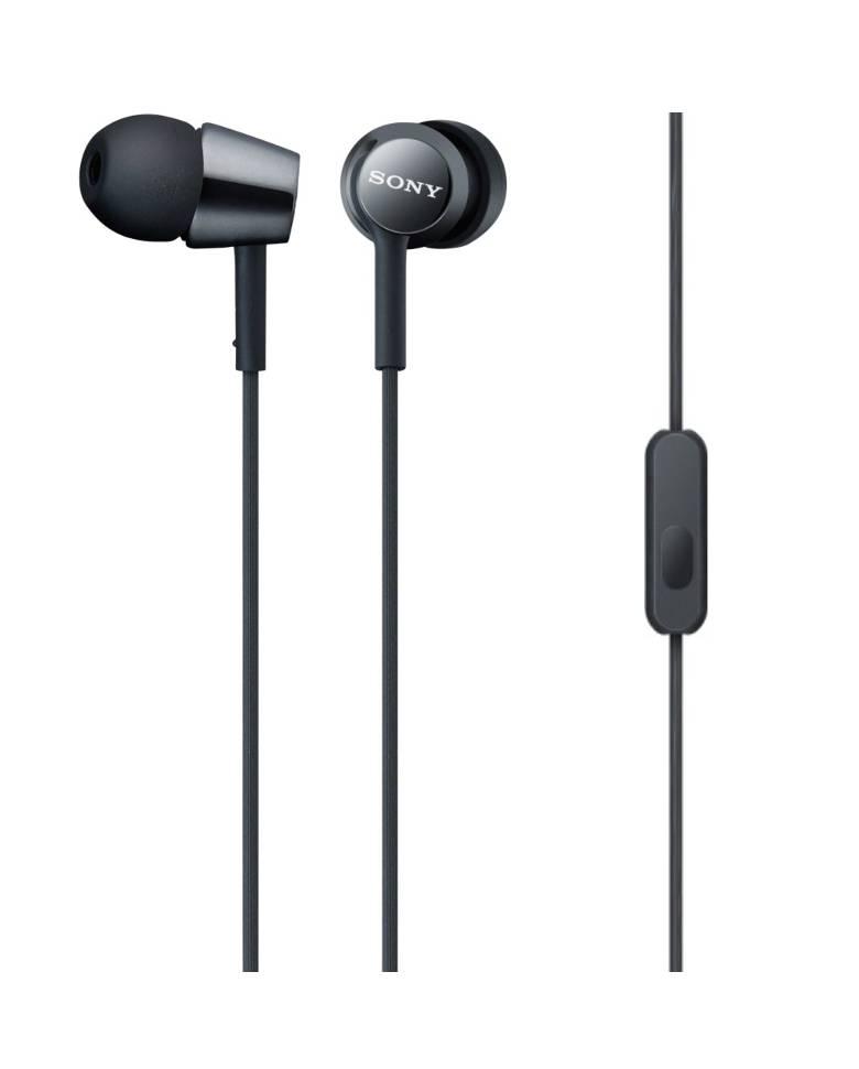 Sony MDR-EX155AP In-Ear Earphones with Mic zoom image