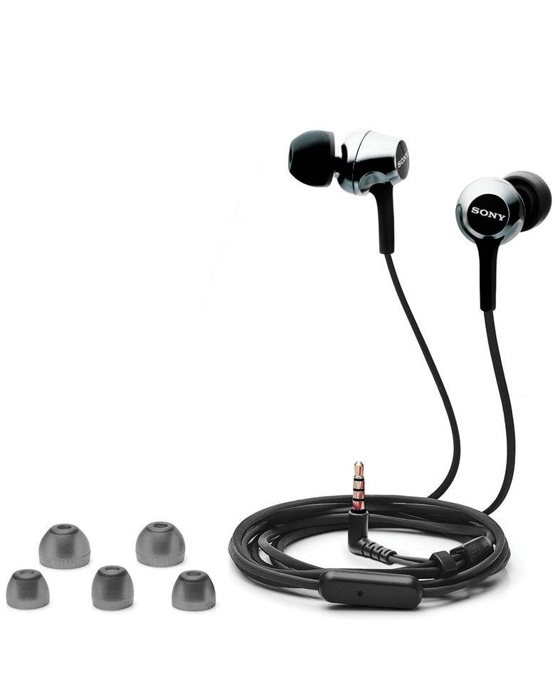 Sony MDR-EX255AP In-Ear Headphones With Mic zoom image