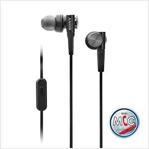 The inbuilt mic of MDR XB55AP allows you to attend calls and the remote can be used switch between tracks