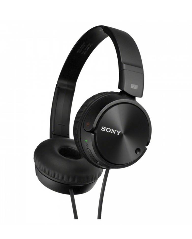 Sony MDR ZX110NC Noise Cancelling Headphone (Black) zoom image