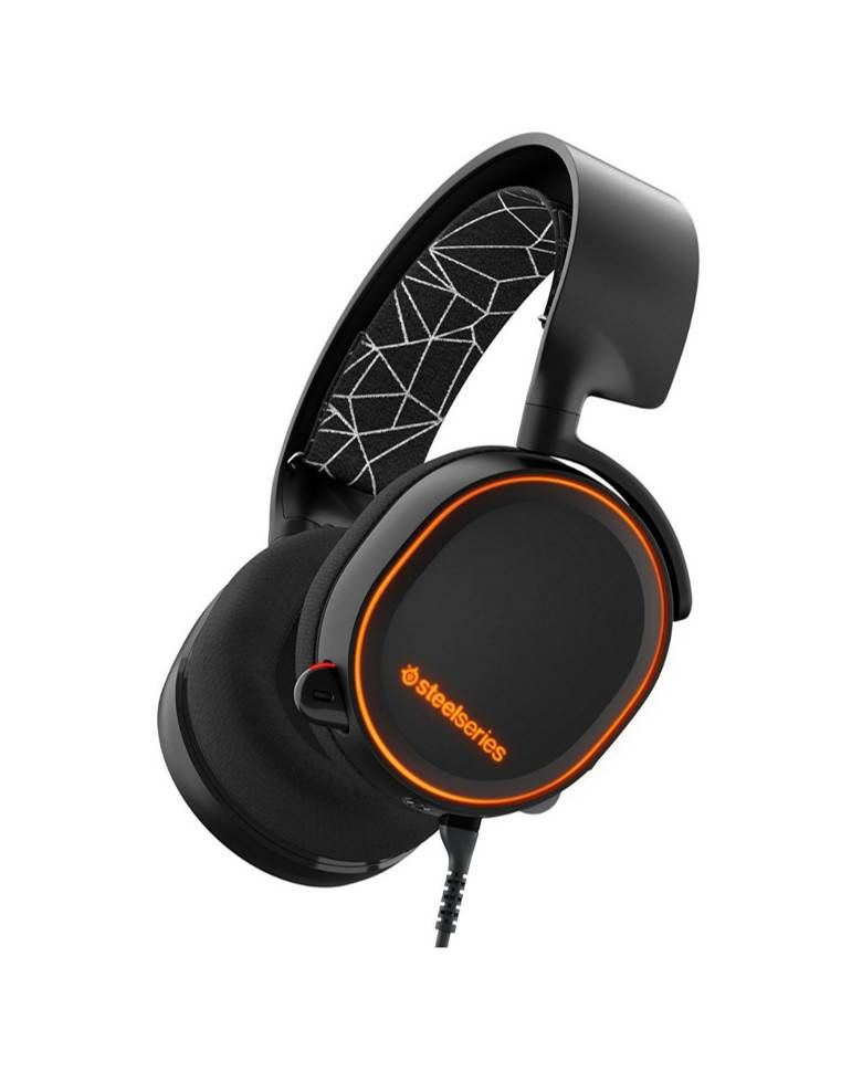 SteelSeries Arctis 5 Wired Gaming Headset with 7.1 Surround Sound and Inbuilt Drivers zoom image