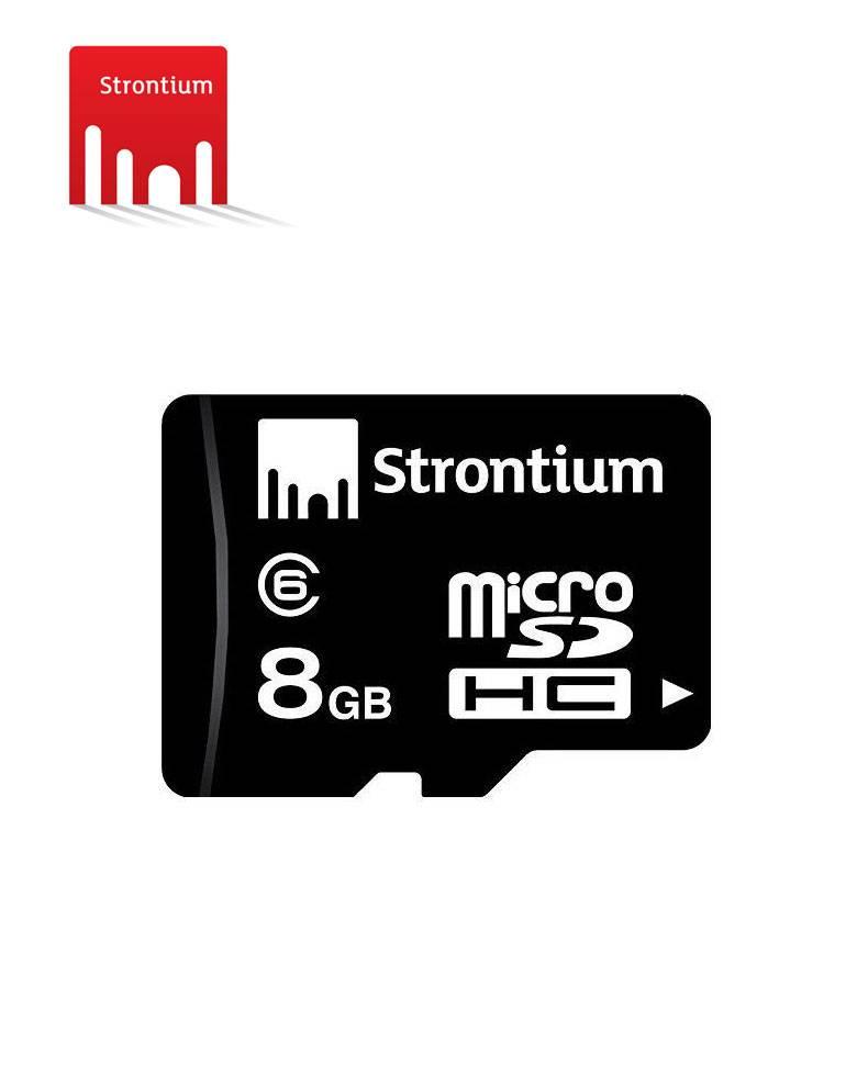 Strontium 8GB MicroSDHC Class 6 Memory Card  zoom image
