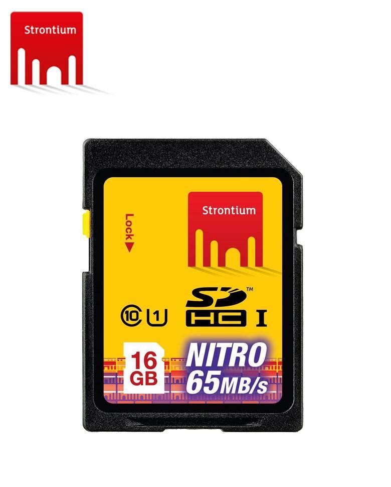 Strontium NITRO 433X 16GB SDHC Class 10 Memory Card zoom image