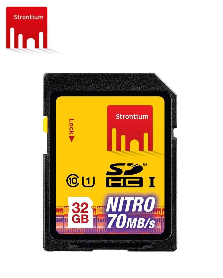 Strontium NITRO 433X 32 GB SDHC Memory Card zoom image