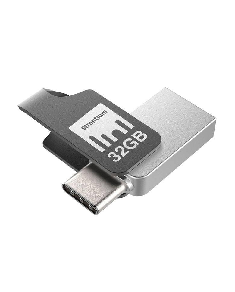 Strontium Nitro Plus 32GB OTG TYPE-C USB 3.1 Flash Drive zoom image