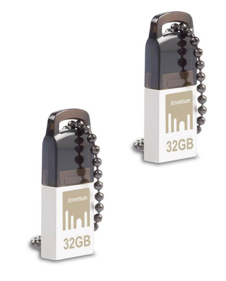 Strontium Nitro 32GB USB 2.0 OTG Pen Drives Combo(2pcs) zoom image