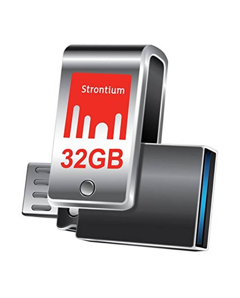Strontium Nitro Plus 32GB USB 3.0 OTG Pen Drive zoom image
