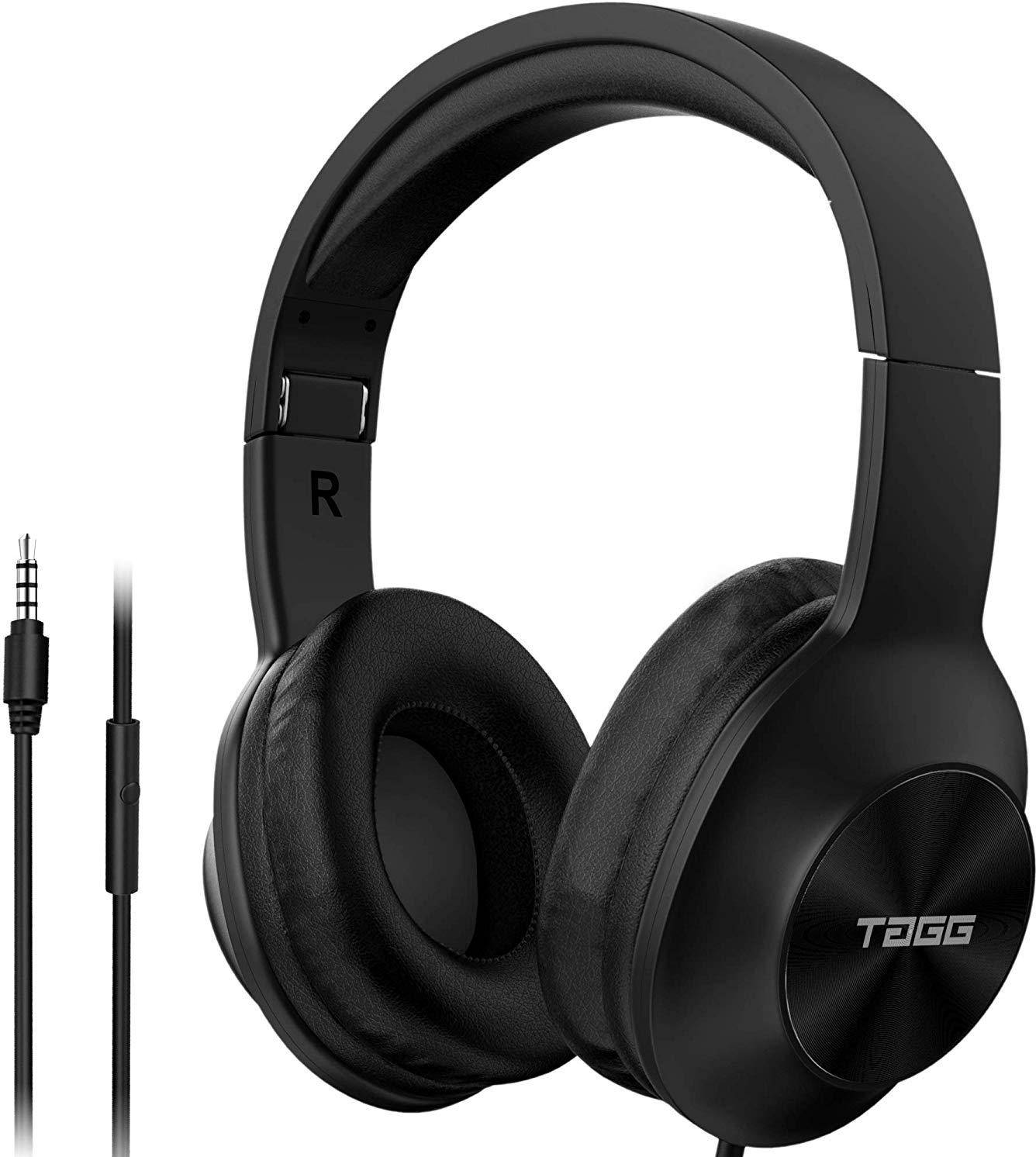 TAGG SoundGear 700 over Ear Wired Headphones  zoom image