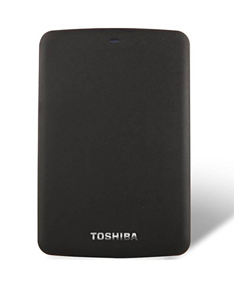 Toshiba Canvio Basics 1TB External Hard Drive Black HDTB310EK3AA zoom image