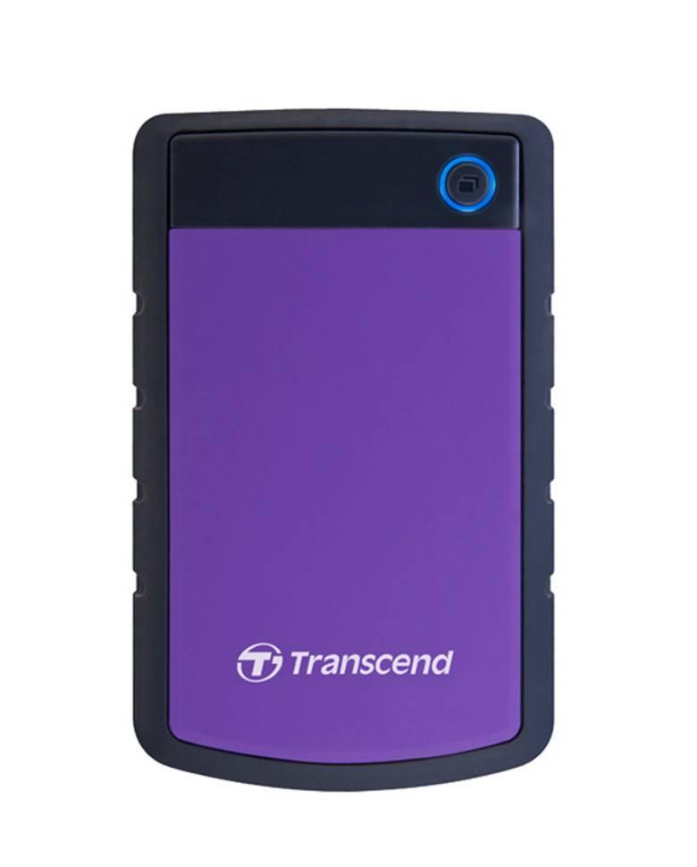 Transcend Storejet 25H3P 2.5 Inch 1TB External Hard Disk (TS1TSJ25H3P ) zoom image