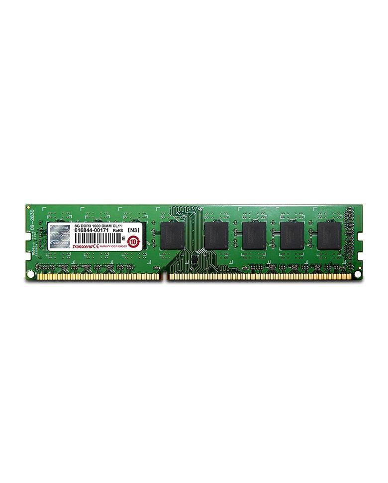 Transcend 8GB JM1600KLH-8G DDR3 1600mhz Desktop Memory zoom image