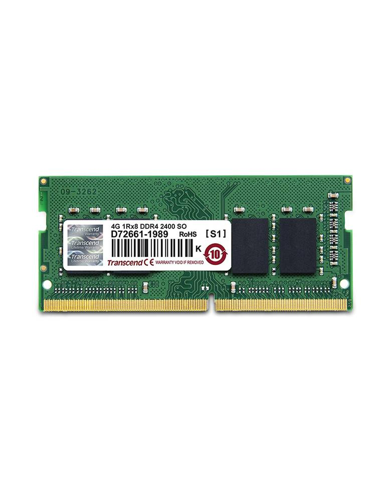 Transcend 4GB-DDR4 2400Mhz RAM for laptop zoom image