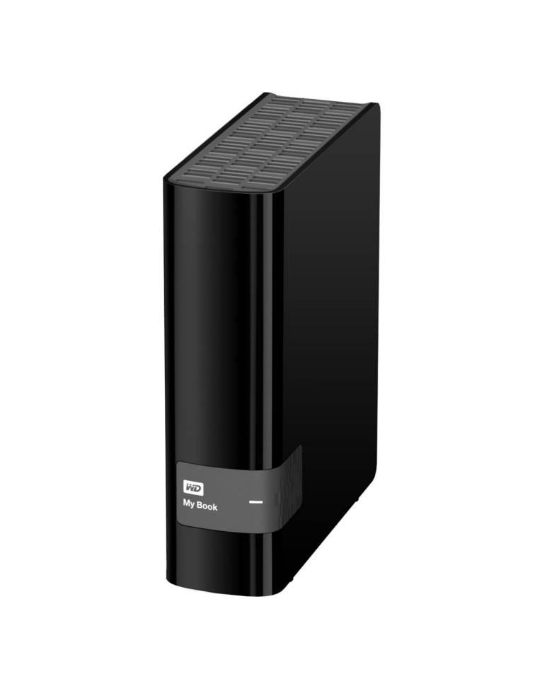 WD Mybook 4TB USB 3.0 External Hard Drive Storage (Black) zoom image
