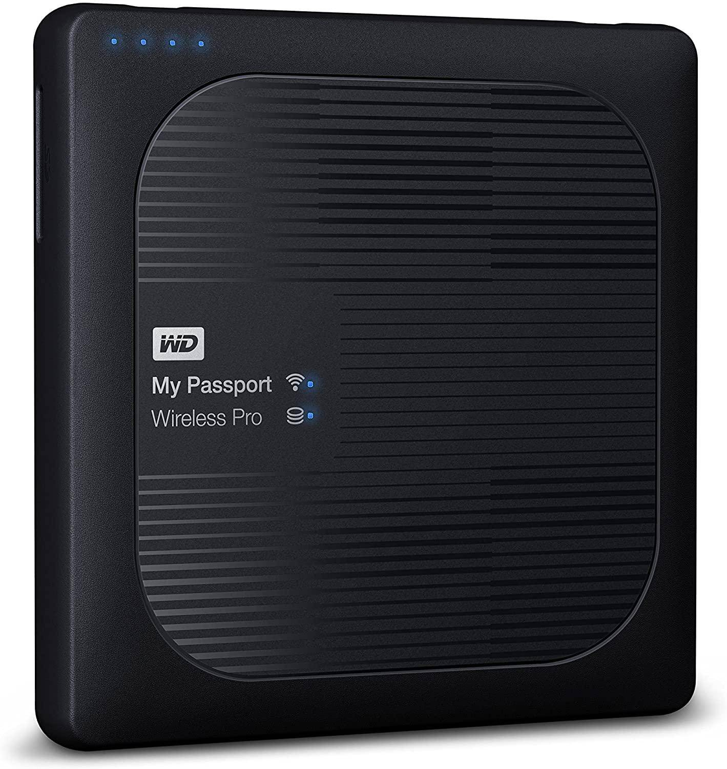WD My Passport Wireless Pro 2TB WiFi Portable External Hard Drive zoom image