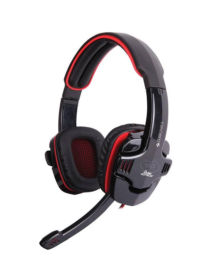 Zebronics Iron Head 7.1 Headphone Multimedia Gaming Wired headset zoom image